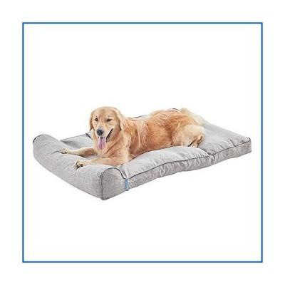 <新品>BDEUS Orthopedic Large Pet Dog Bed Traditional Sofa Couch Pet Bed Mattress with Removable Cover and Pillow, Anti-Slip Bottom for