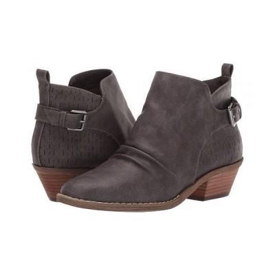 Report レポート レディース 女性用 シューズ 靴 ブーツ アンクルブーツ ショート Dev - Grey