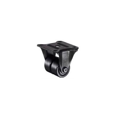 ハンマーキャスター 低床式中荷重用キャスター(ナイロン車輪・固定式ベアリング入)車輪径50mm 550R-BN250