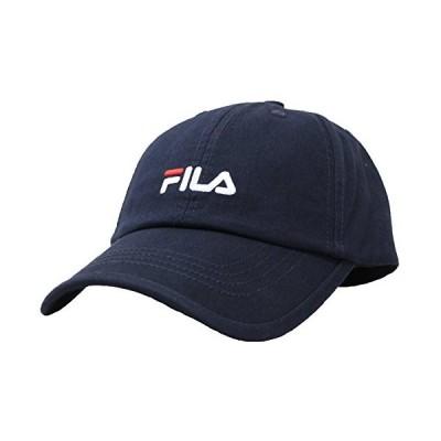 (フィラ)FILA キャップ ベーシックコットンツイル ネイビー(59?61cm)