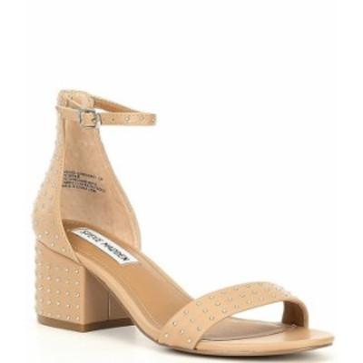 スティーブ マデン レディース サンダル シューズ Irenee-S Studded Leather Block Heel Sandals Blush