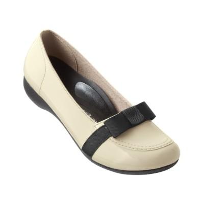 リゲッタスマイル リボンローファー(ゆったりワイズ) シューズ(フラットシューズ) Shoes