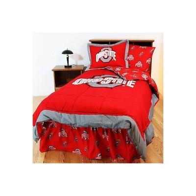 掛け布団 セット  Ohio State Buckeyes Comforter Sham & Pillowcase Twin Full Queen King Size CC