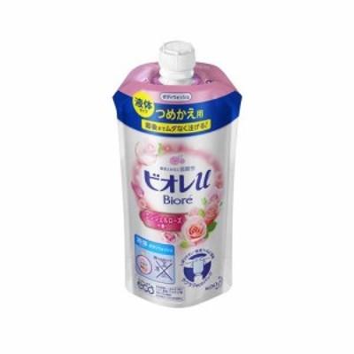花王 ビオレu エンジェルローズの香り つめかえ用 340ml|4901301336385(tc)