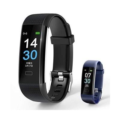 スマートブレスレット スマートウォッチ 2021最新版 活動量計 GPS運動記録?16種スポーツモード IP68防水?万歩計 心拍数 睡眠検測 女性生