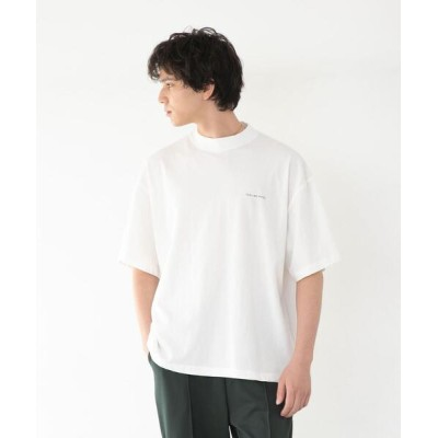coen / 【WEB限定】FEELING MADE ハイツイストコットン ハイネック ハーフスリーブ Tシャツ MEN トップス > Tシャツ/カットソー