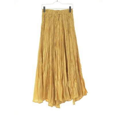 ROSEBUD / ローズバッド シャイニーギャザーマキシ スカート