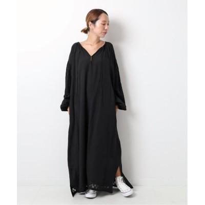 (Spick & Span/スピック&スパン)【YURIE A.× Spick & Span】刺繍ドレス◆/レディース ブラック