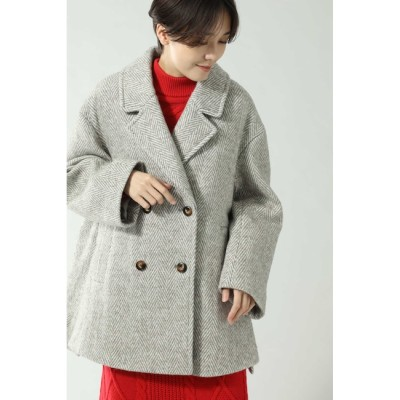 【ローズバッド/ROSEBUD】 オーバージャケットコート