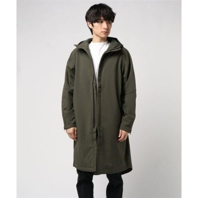 コート モッズコート BURLAP OUTFITTER/MICRO FLEECE HOODED COAT