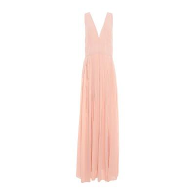 コッカ KOCCA ロングワンピース&ドレス あんず色 XL 100% ポリエステル ロングワンピース&ドレス