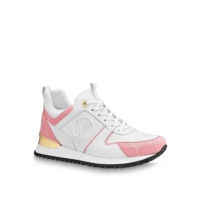 ルイヴィトン LOUIS VUITTON スニーカー シューズ 靴 ホワイト ピンク デニム