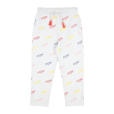 パトリツィア ペペ PATRIZIA PEPE パンツ ホワイト 10 コットン 95% / ポリウレタン 5% パンツ