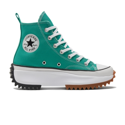 CONVERSE RUN STAR HIKE HI 高筒 厚底 休閒鞋 男女 綠-170441C