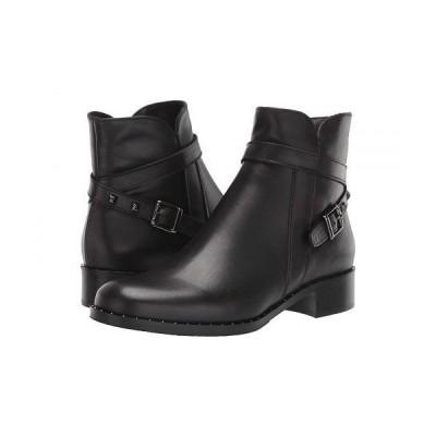 La Canadienne ラカナディアン レディース 女性用 シューズ 靴 ブーツ アンクルブーツ ショート Sailor - Black Leather