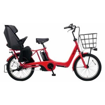 配送も店頭受取も可 電動自転車 子供乗せ パナソニック 電動アシスト自転車 20インチ 3段変速ギア ギュット アニーズ DX 2020年 BE-ELAD0