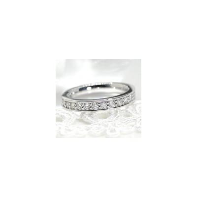 エタニティリング プラチナ950 H&Cダイヤモンド フチありフルエタニティリング