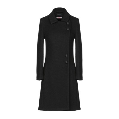 ブルーガール ブルマリン BLUGIRL BLUMARINE コート ブラック 44 ポリエステル 60% / ウール 40% コート