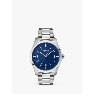 ヒューゴボス 腕時計 メンズ アクセサリー HUGO by Hugo Boss Men's CREATE Bracelet Strap Watch