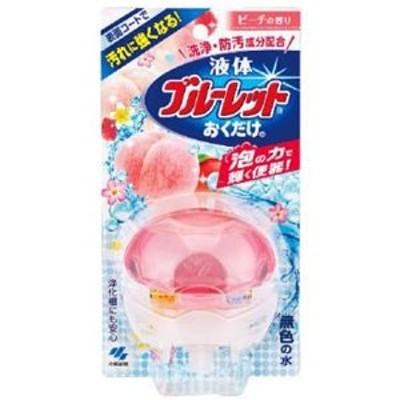 小林製薬 液体ブルーレットおくだけ 本体 【ピーチの香り】70ml