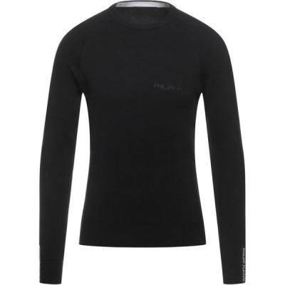 フィリップ プレイン PHILIPP PLEIN メンズ ニット・セーター トップス Sweater Black