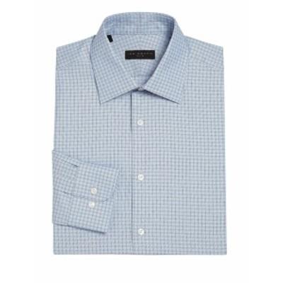 アイクバイアイクベーハー メンズ ドレスシャツ ワイシャツ Regular-Fit Plaid Dress Shirt