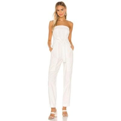 フリーピープル Free People レディース オールインワン ジャンプスーツ ワンピース・ドレス Go West Utility Jumpsuit White