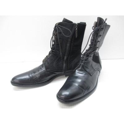 ヨウジヤマモト Yohji Yamamoto ヒロムタカハラ HIROMU TAKAHARA 23cm ブーツ 靴 中古 レディース ∴WT977