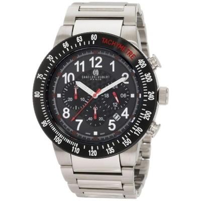 チャールズヒューバート Charles-Hubert, Paris 男性用 腕時計 メンズ ウォッチ クロノグラフ ブラック 3896-W