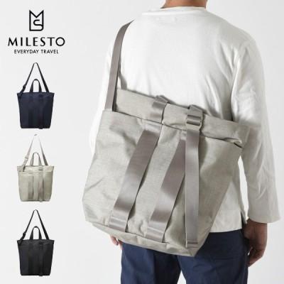milest ミレスト かばん MLS567 STLAKT トートバッグ バック カバン 鞄 旅行 出張 メンズ レディース 新生活 人気