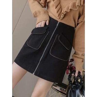 レディース ハイウエストショートスカート 韓国ファッション 美脚 セクシー タイトスカート オフィス 二次会 ボトムス 大人上品なAライン