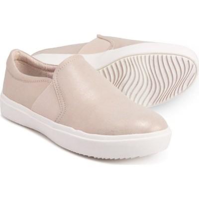 ドクター ショール Dr. Scholls レディース スリッポン・フラット シューズ・靴 Slip-On Sneakers Beach Metallic Denim