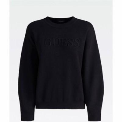 ゲス Guess レディース スウェット・トレーナー トップス Core Lounge Sweatshirt Black JBLK