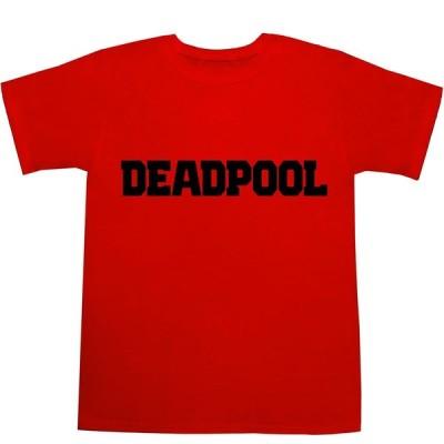 デッドプール Tシャツ DEADPOOL T-shirts【映画】【ロゴ】【ティーシャツ】【マーベル】