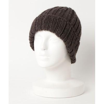 collex / イタリア糸リブワッチ WOMEN 帽子 > ニットキャップ/ビーニー