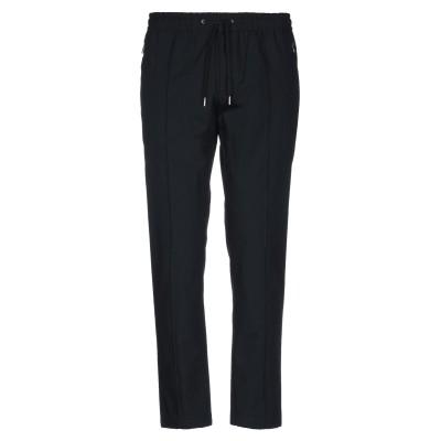 ドルチェ & ガッバーナ DOLCE & GABBANA パンツ ブラック 48 コットン 100% / 牛革(カーフ) / 真鍮/ブラス パンツ