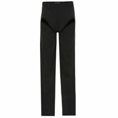 ワイプロジェクト Y/PROJECT レディース ボトムス・パンツ cut-out stretch-wool pants Black