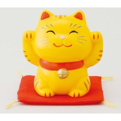 幸せ招き猫 特小 とら(両手上げ) ポイント消化