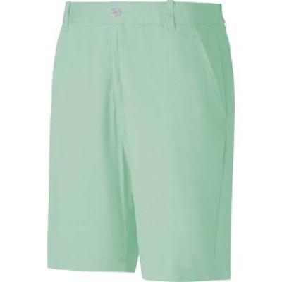 プーマ メンズ ハーフパンツ・ショーツ ボトムス PUMA x Arnold Palmer Men's Latrobe Golf Shorts Mist Green