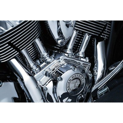 Kuryakyn 5641 Motorcycle Engine Accessory: Tappet Block Accent Cover f