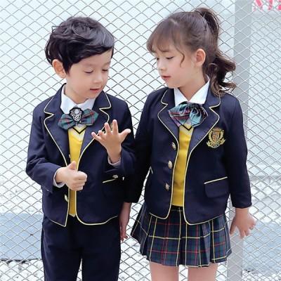 卒業式 スーツ 入学式 スーツ 女の子 男の子 スーツ キッズ 卒業式服 フォーマル 女の子 男の子 5点セット 子供スーツ 女の子 男の子 子供服 110 150 160