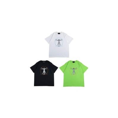 シンク バイ メディコムトイ SYNC by MEDICOM TOY ショートスリーブ Tシャツ 半袖 メンズ M-XL ブラック/ホワイト H.SORAYAMA「CANON OF PROPORTIONS」TEE