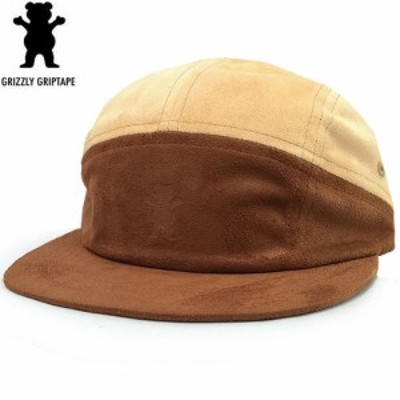 グリズリー GRIZZLY キャップ SUEDE 7PANEL CAMP HAT タン NO11