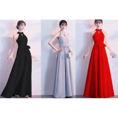 肩魅せデザインがセクシーな欧米スタイル シックなデザインでエレガントなAライン ストレッチロングドレス キャバドレス キャバワンピ