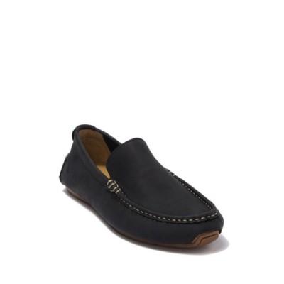 コールハーン メンズ スリッポン・ローファー シューズ Somerset Venetian Leather Loafer  BLACK