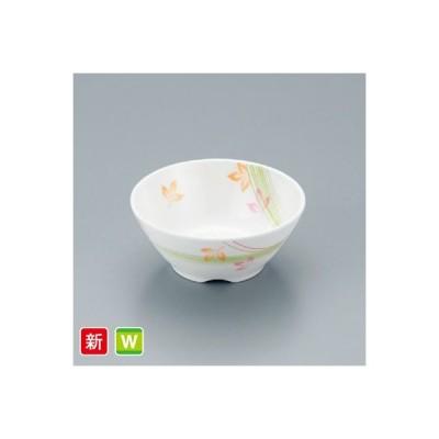 耐熱メラミン製 フォーリスト 丸小鉢(身)こもれび スリーライン[M-405FOKM] 食器 メラミン プラスチック製 業務用 病院・施設 皿