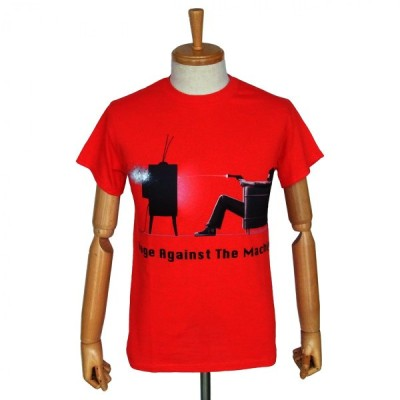 RAGE AGAINST THE MACHINE - WON'T DO RED / レイジ・アゲインスト・ザ・マシーン オフィシャル バンドTシャツ ロックTシャツ