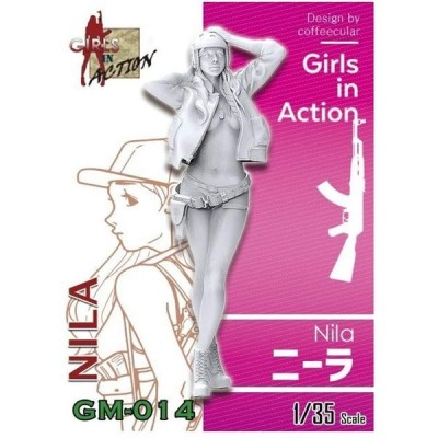 ジルプラ 1/35 ガールズインアクションシリーズ ニーラ レジンキット GM-014