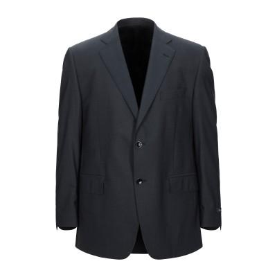 FABIO INGHIRAMI テーラードジャケット スチールグレー 54 スーパー120 ウール 100% テーラードジャケット