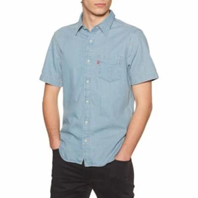 リーバイス Levis メンズ 半袖シャツ トップス classic standard short sleeve shirt Red Cast Stone Wash Takedown